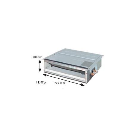 Daikin conductos dxs60f 20 cm clamair madrid for Maquina aire acondicionado por conductos